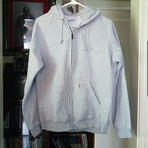 Clarksburg pullover zip sweatshirt hoodie Carhartt